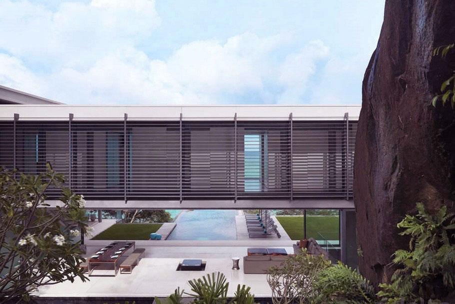 Bridge House Villa Amanzi Modern Architecture