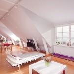 Modern Crisp White Apartment in Stockholm