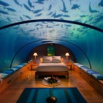 Dangerous Underwater Bedroom Design Ideas