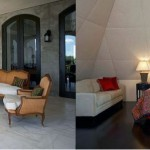 Fresh and Luxury Castle House Patio Bedroom