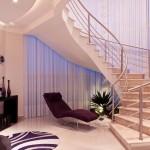 Luxury Cream Marble Staircase Ideas