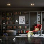 Home Library & Reading Space Designs