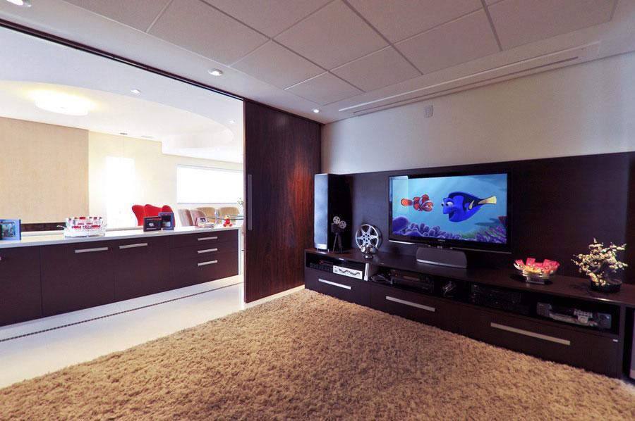 Minimalist Large Living Room Entertainment Unit