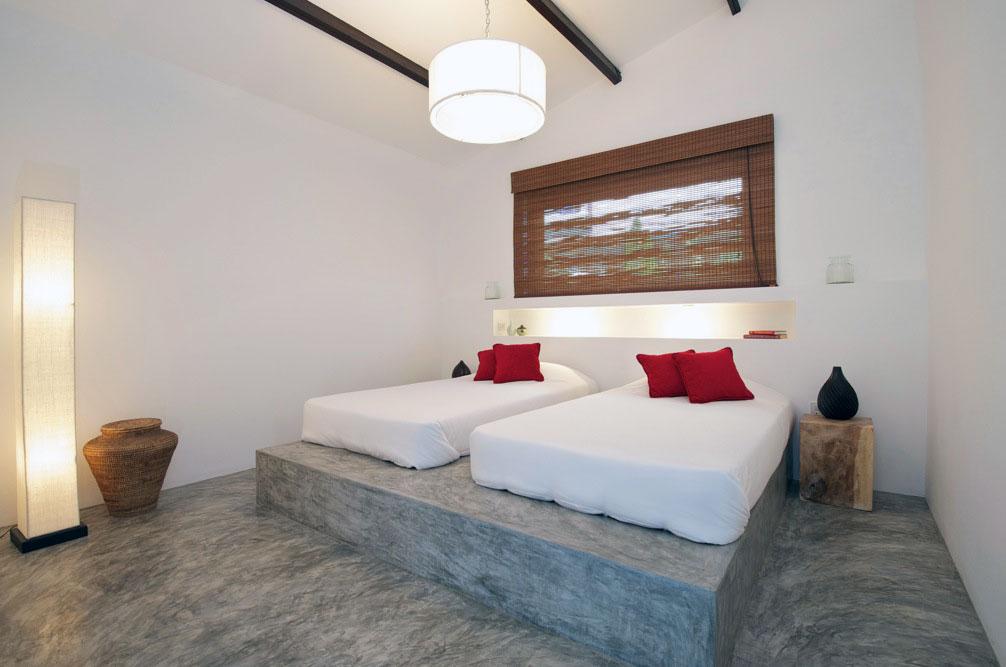 Modern Bed Base with Modern Lantern Lamp Ideas