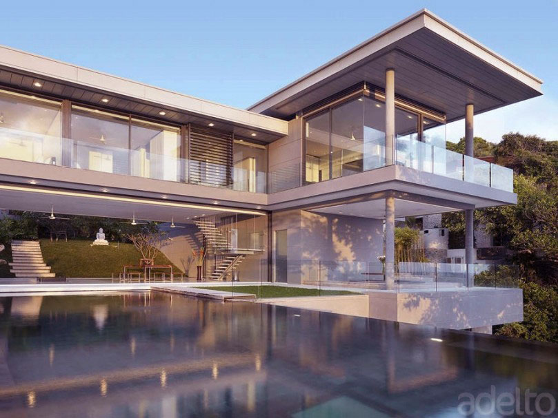 Modern Glass architecture Design Ideas