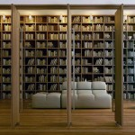 Modern Large Home Library Design