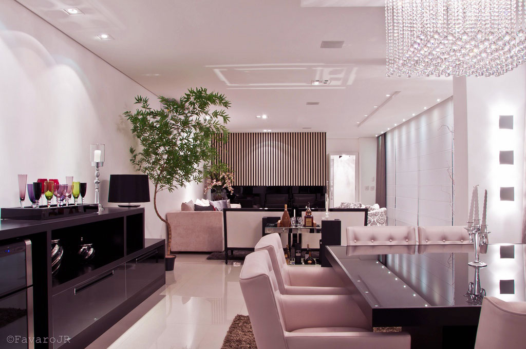 Interior picture by favaro modern luxury open plan dining room