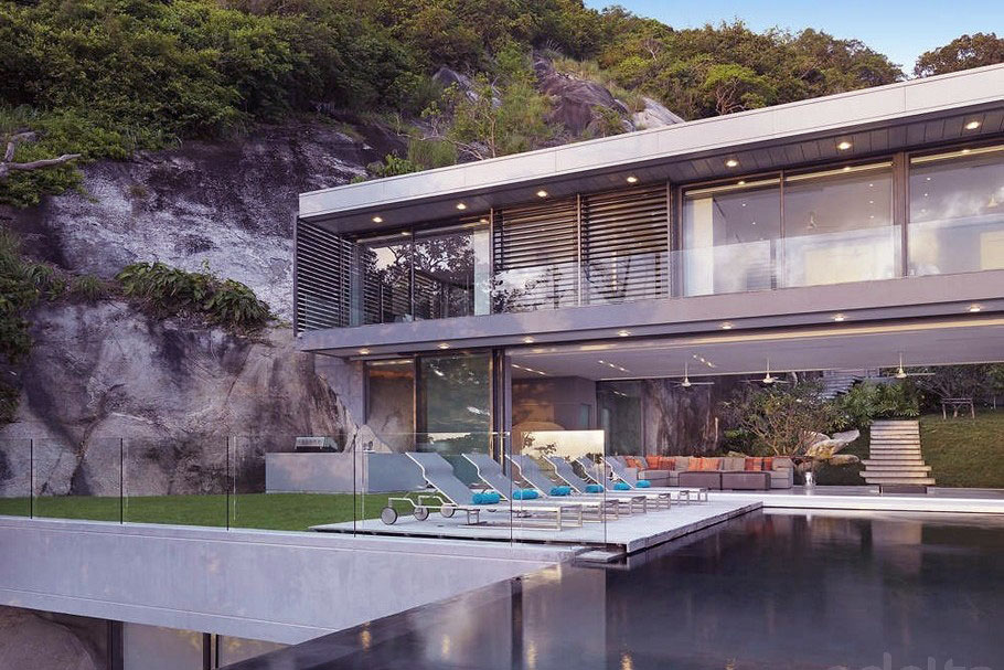Modern Sun Deck Amanzi Thailand, by Original Vision architects