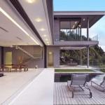 Modern Sun Deck Design Beside Swimming Pool