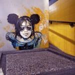 Modern Woman in Wall Mural Art Ideas
