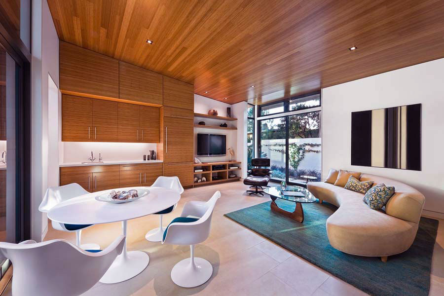 Open living room dining room with beige sofa ideas Beige couch living room ideas