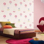 Beautiful Colorful Flower Wall Decal for Girls Room