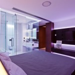 Black Entertainment Unit Bedroom Design
