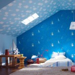 Fresh Colorful Wallpaper for Kids Room