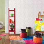 Bright Green White Wall Decor for Kids Play Room