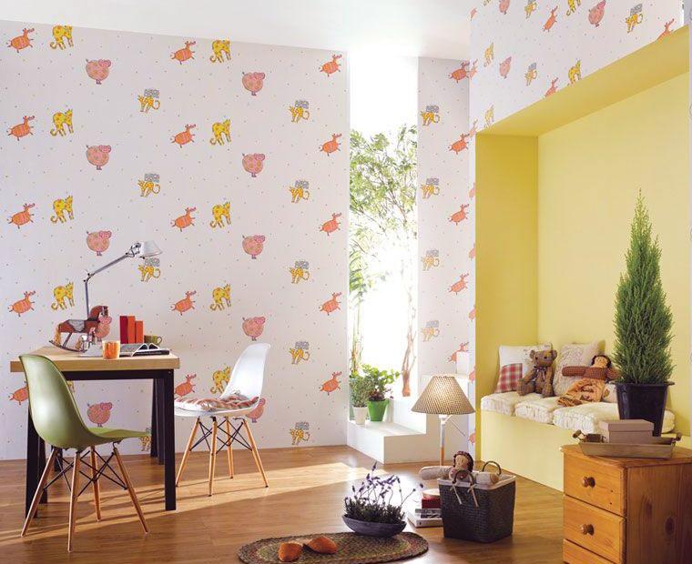 Cartoon animal themed kids room ideas interior design ideas for Cheetah themed bedroom ideas