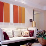 Colorful Chinese Style Living Room Decor