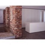 Contemporary Square Concrete Bathub Design Ideas