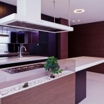 Corian Kitchen Island Countertop Design