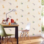 Cute Animal Wallpaper for Kids Study Room