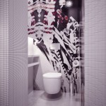 Gorgeous Detail Mosaic Tile Bathroom Design