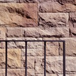Great Rock Wall Texture Rozelle Terrace House