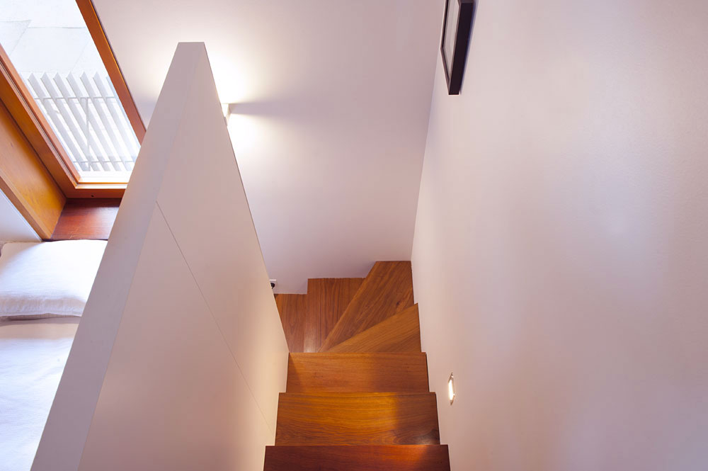 Hidden Stair Bedroom Design Rozelle Terrace House