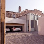 Large Garage Cobbled Driveway Ideas