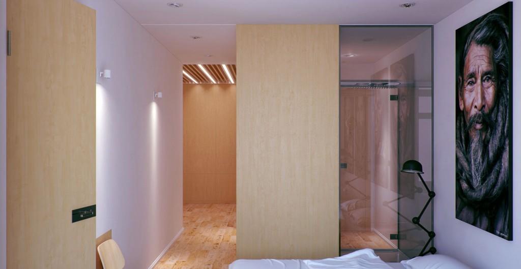Modern Bathroom Shower Enclosures Apartment