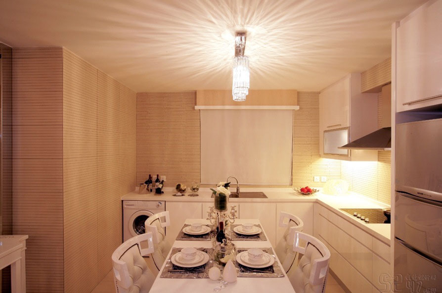 Modern Bright White Kitchen Diner Ideas