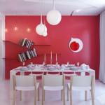 Bright Color Small Apartment Decor Ideas