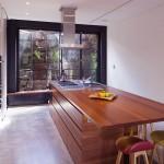 Modern Wood Kitchen Island Design