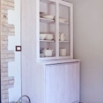 White Classic China Cabinet Design