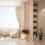 Beautiful White Cream Lounge Design Ideas