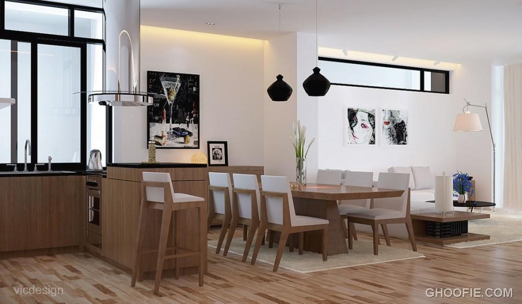Bright White Oak Dining Suite Kitchen Lounge Ideas