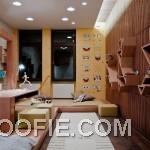 Kids Room with Sponge Bob Wall Decor Ideas