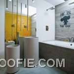 Modern Contemporary Unique Creative Bathroom Design