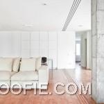 Modern White Sofa Open Living Room