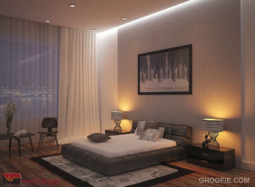 Romantic Modern Bedroom Design