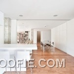 White and Wood Interior Apartment Ideas