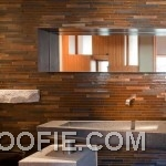 Ethnic Bathroom Design with Glamorous Tile