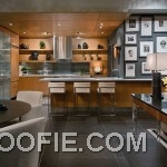 Luxury Open Kitchen Area with Dining Room