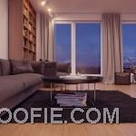 Minimalist Gray Modern Sofa Living Area