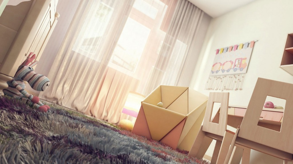 Modern Childrens Room Decor Interior
