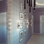 Modern Hallway Apartment Design with Ceiling Lights