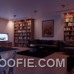 Neutral open plan living room decor ideas. These are awesome examples of design for the living room bookshelf in the apartment.