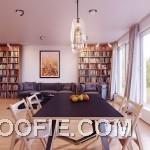 Spacious Neutral Dining Room Design Ideas