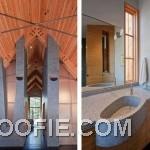 Unusual Bathroom Design with Unusual Furniture