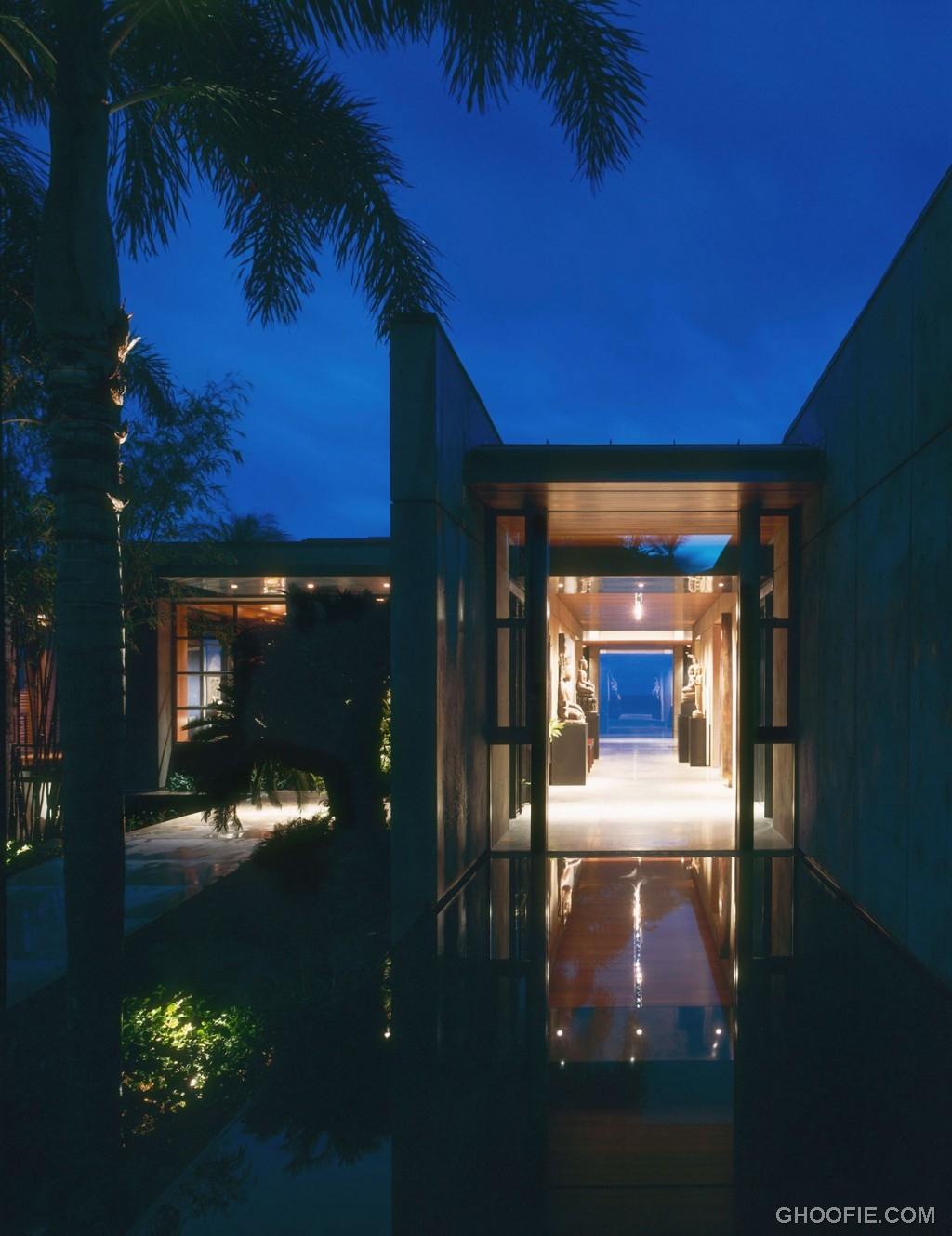 Amazing Interior Lighting Hawaiian Villa