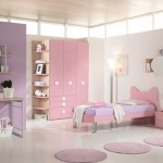 Beautiful Soft Color Pink Purple For girls Bedroom